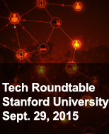 science chemistry photo with title health roundtable meeting at Stanford Sept 29, 2015